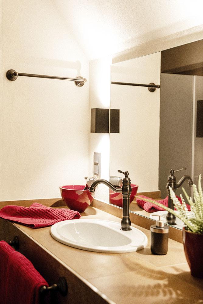 Bad im Appartement Wassermühle Deppendorf