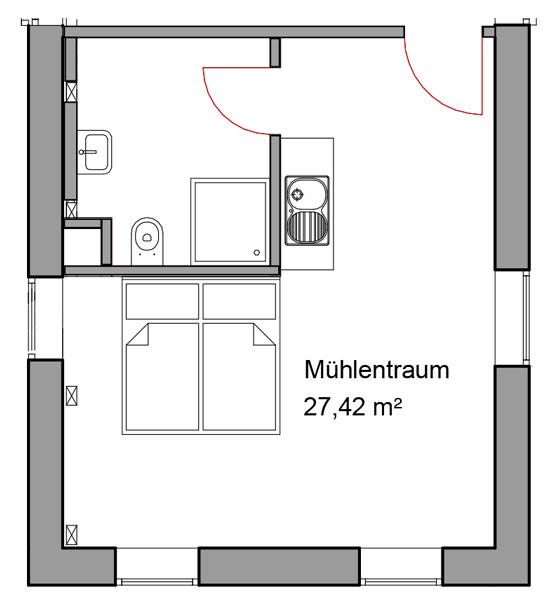 Mühlentraum Hotel Wassermühle Deppendorf