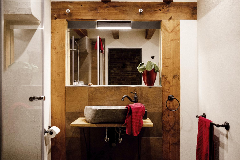 Bad in Zimmer 5 Wassermühle